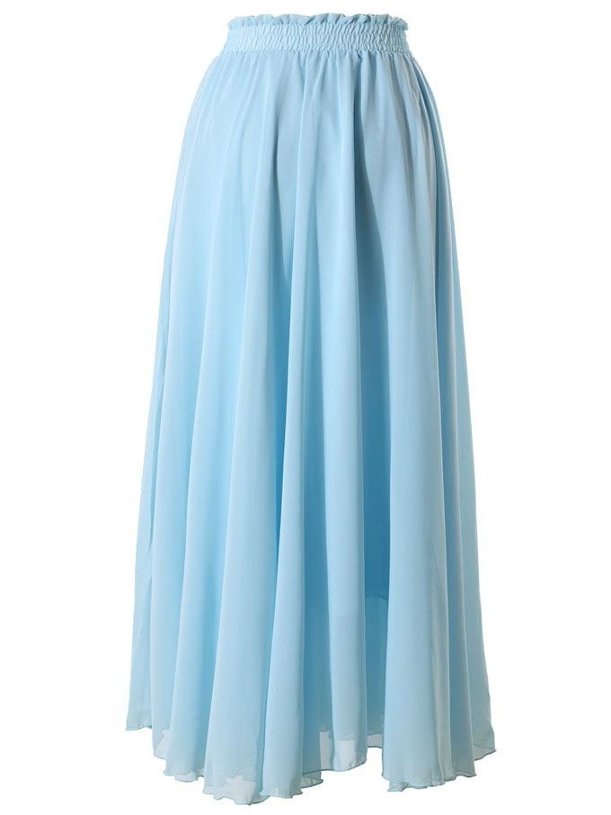light blue maxi skirt skirts maxi skirts